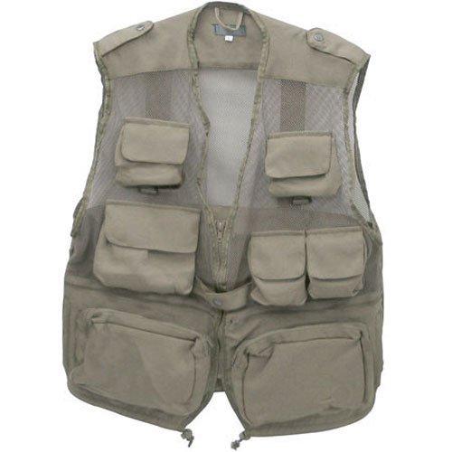 (Humvee Combat Tactical Vest Khaki Medium)
