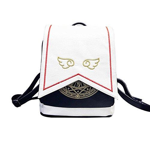 TOMOTI Anime Cardcaptor Sakura Cosplay Backpack Shoulder Bag Handbag Kawaii School Bag