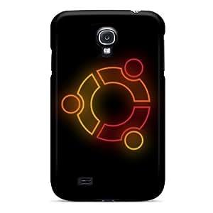 Galaxy S4 IZimggO7207kgyqU Ubuntu pc Silicone Gel Case Cover. Fits Galaxy S4