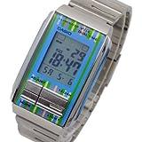 カシオ CASIO フューチャリスト FUTURIST デジタル 腕時計 LA-201W-2C[並行輸入]