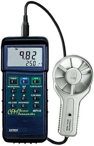 B00023RVNY Extech 407113 CFM Metal Vane Anemometer 41ARYHSVY8L