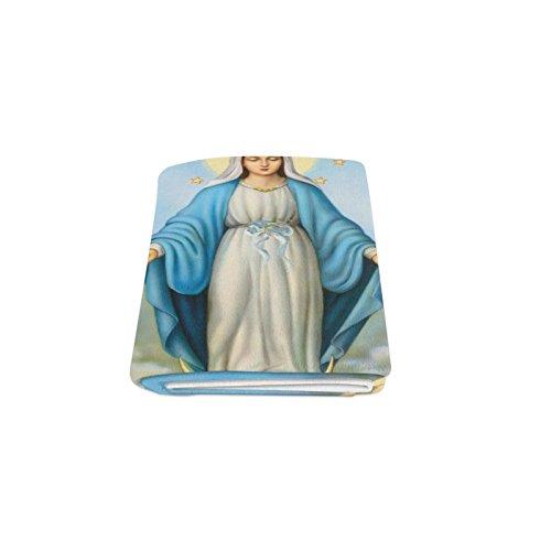 Thanksgiving/Christmas Gifts Christian Religious Virgin Mary Warmer Winter Fleece Throw Plush Blanket 50 x 60 inches (Medium)
