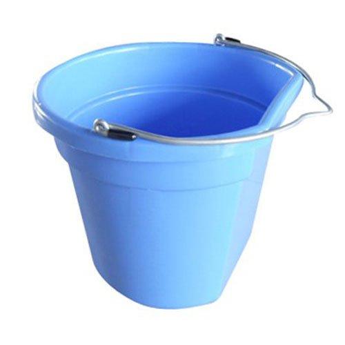 Qingdao Huatian Hand Truck 20 QT, Blue, Flat Sided Utility Bucket