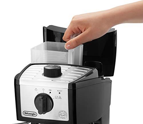 DeLonghi EC155M Manual Espresso Machine, Cappuccino Maker by DeLonghi (Image #3)