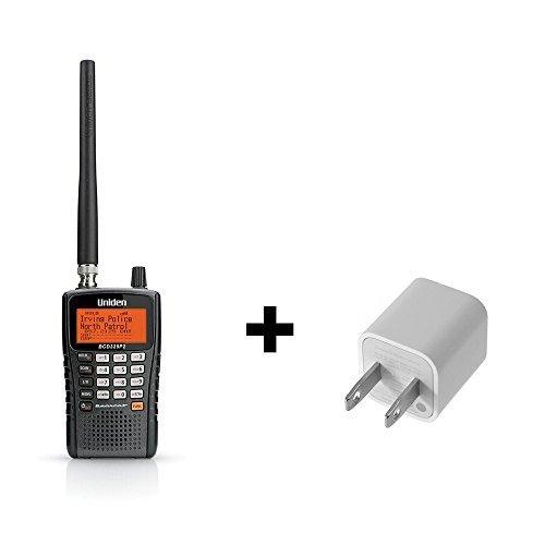 Uniden BCD325P2 Phase II Digital Handheld Scanner Bundle