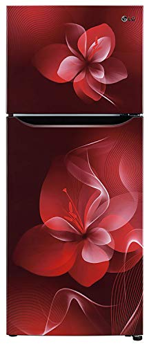 LG 260 L 2 Star Smart Inverter Frost-Free Double Door Refrigerator (GL-N292DSDY, Scarlet Dazzle) 2021 July Frost Free Refrigerator: Auto defrost function to prevent ice-build up Capacity 260 L: Suitable for families with 2 to 3 members Energy Rating: 2 Star