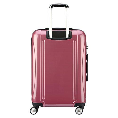DELSEY Paris Luggage Checked-Medium, Peony Pink