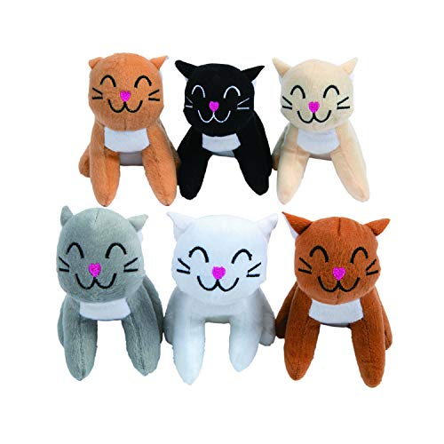 Fun Express Plush Realistic Cats (1 Dozen)]()