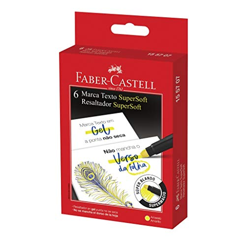 Marca Faber Castell 155707 Amarelo Pacote