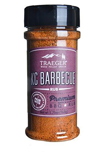 Traeger Signature Spices & Sauces, Kansas City BBBQ Rub, 5.75 Ounce
