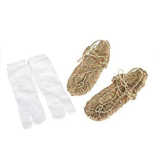 Lightweight Cosplay Bleach Straw Sandals Slipper Shoes for Anime fans