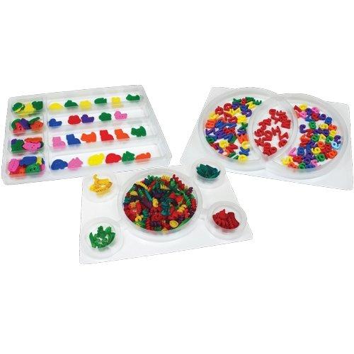 Venn Diagram Math - Roylco R35050 Roylco See-Through Sorting Trays, Grade: Kindergarten to 3