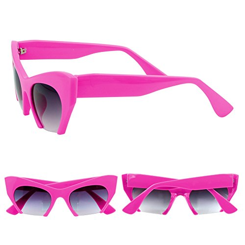 Best-topshop Women's Leopard Cat Eye Sunglasses Retro Shades(Hot - Eye Cat Sunglasses Topshop