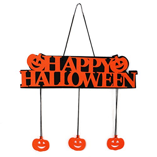 LONG7INES Halloween Pumpkin Banner/ Ghost Hanging Decoration for Halloween Party and Theme Party -