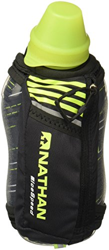 Nathan IceSpeed Insulated Handheld (18 oz), Black/Safety Yellow Black/Safety Yellow For Sale