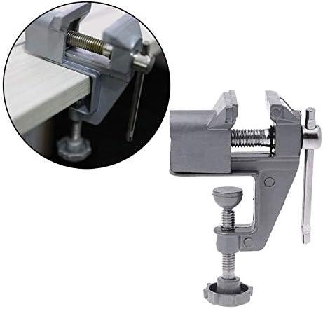 ユニバーサルミニ30ミリメートル金属テーブル副ベンチクランプネジ万力用diyクラフト電動ドリル固定修理ツール工場小さな部品