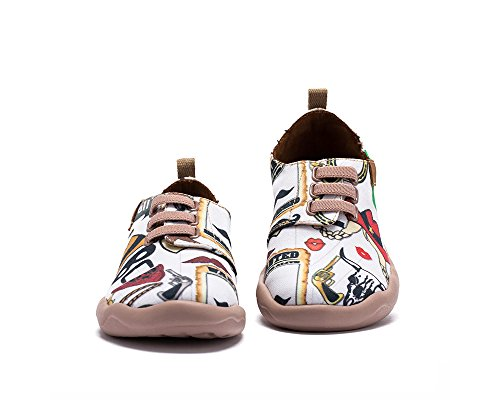 Piller De Età Blanc Mode Casual Uin Pour La Chaussures Enfant adolescent Toiles Tqw8E8BdX