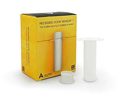 Amazon.com: Aeotec Recessed Door Sensor Gen5, Invisible Z Wave Plus  Security And Open / Close Sensor, Battery Powered: Home Improvement