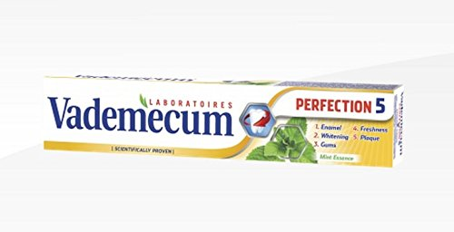 Vademecum Toothpaste - Perfection 5 - PACK OF - Rate Shipping Overseas Flat