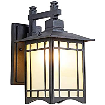 Elk Lighting 42170 1 Led Kanso 1 Light Outdoor Hazelnut