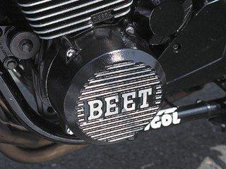 BEET(ビート) ジェネレーターカバー FX/GP/GPZ/ZEPHYR400/χ   クロ  0402-K03-04   B00CBW9DDA