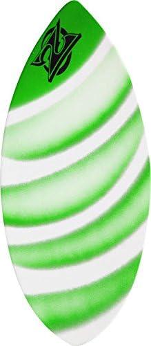 45x20 Assorted Green Zap Wedge Medium Skimboard