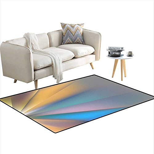 Kids Carpet Playmat Rug Geometric Background Crystal Polygon Angle Vector Pattern Light Refraction The Edges 40