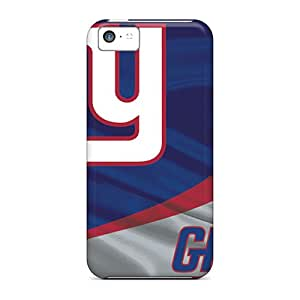 High Quality Mobile Cases For Iphone 5c With Unique Design Beautiful New York Giants Pattern PhilHolmes