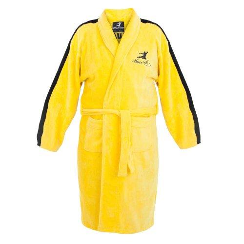 Bruce Lee Jeet Kune Do Yellow Cotton Bathrobe