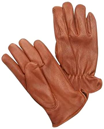 Napa Glove Deerskin Leather Driver Gloves Brown, Large 815BRNL