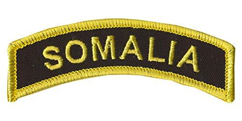 "CVMA Style TAB -""Somalia"" - 1"" X 3 1/2"" Somalia Combat Veteran Tab Wax Backing with Merrowed Edge - Battle of Mogadishu 1993 - Somalia - Black Hawk Down - Combat Veterans Motorcycle Association Color"