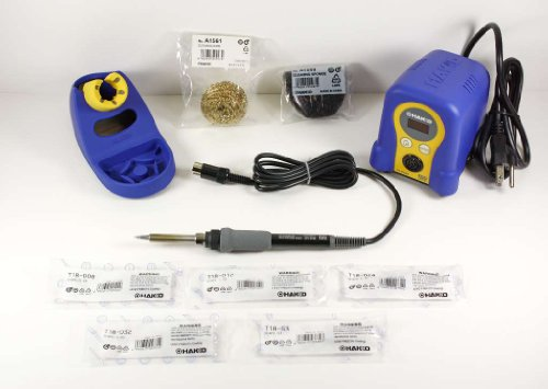 Digital Soldering Station with Chisel Tip Pack T18-D08/D12/D24/D32/S3