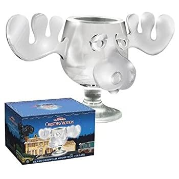 icup national lampoons christmas vacation griswold moose mug 8 oz clear - Christmas Vacation Moose Mug