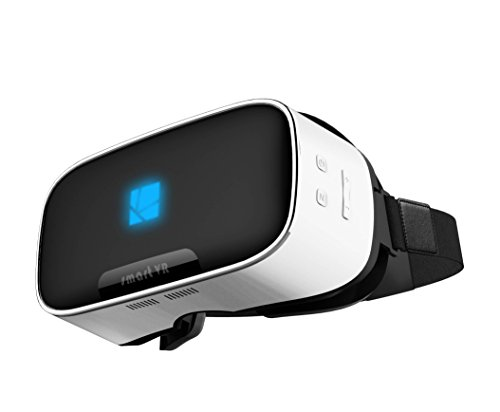 ALL IN ONE 3D VR Headset From LENKEWI-V1 Smart 3D VR Headset All in One VR Headsets,Virtual Reality Glasses Android 5.1 system HD screen 360 Viewing,Support Wifi 2.4G Bluetooth 2G/16GB T-Flash Card