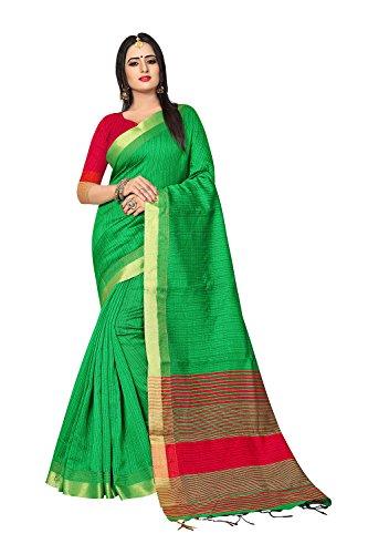 Women for Facioun Green Sari Indian Traditional Party Sarees Wedding Designer Da Wear wCZqItWI