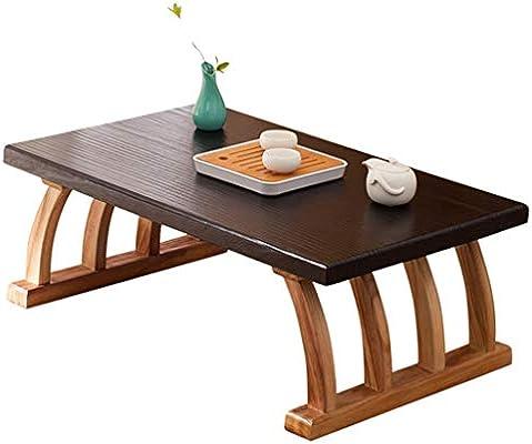 YNLRY Mesa De Tatami Tabla De Té Japonés Zen Tabla Simples De La ...