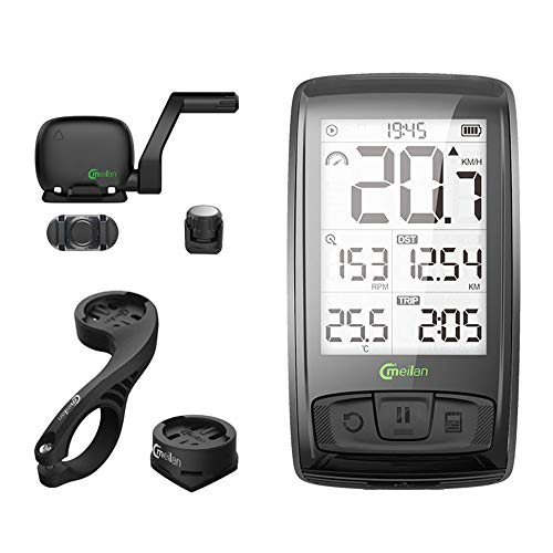 Fitness Cycling Computer - Bike Computer Bluetooth Bicycle Speedometer 2.5