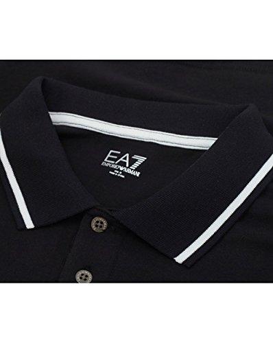 Ea7 Train Core Id Short Sleeved Polo XXL BLACK