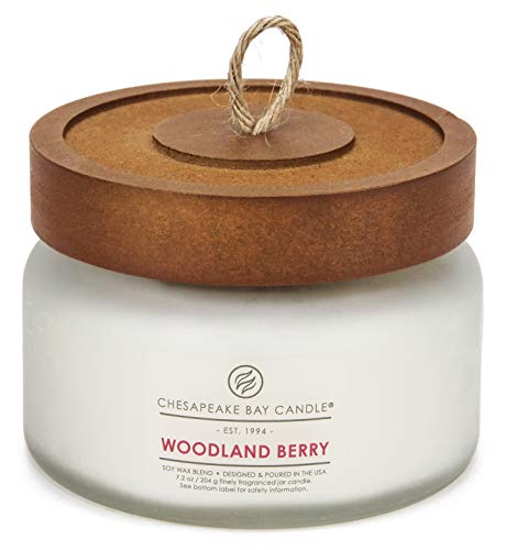 Chesapeake Bay Candle Scented Candle, Woodland Berry, Small Jar ()