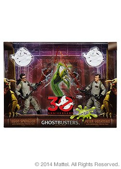 "Ghostbusters 30th Anniversary 6"" Egon Spengler and Peter Ven"