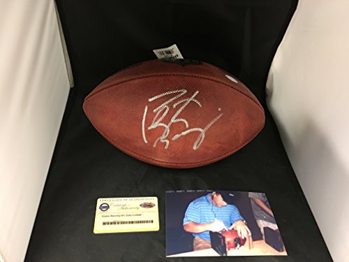 Peyton Manning Signed Authentic Football - 3