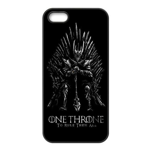 Game Of Thrones 005 coque iPhone 4 4S cellulaire cas coque de téléphone cas téléphone cellulaire noir couvercle EEEXLKNBC25175