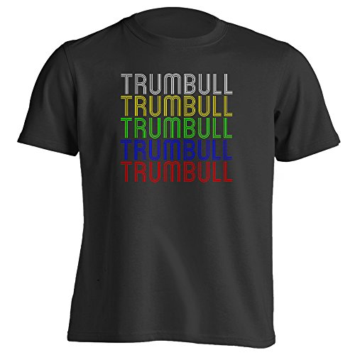 Retro Hometown - Trumbull, CT 06611 - Black - Medium - Vintage - Unisex - - Ct Trumbull