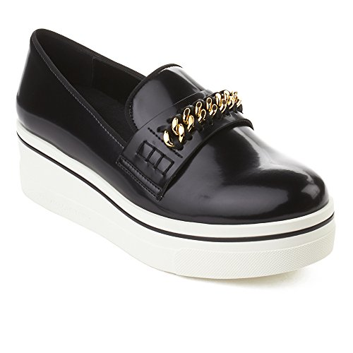 Black Platform Shoes Women's Loafer Leather McCartney Stella xTA0q4YfwW