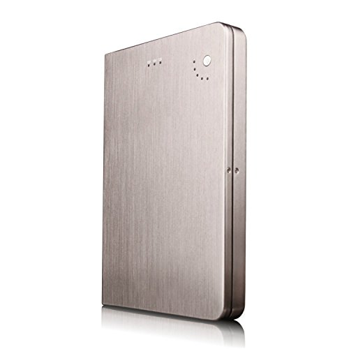 28000mAh Portable External Battery Charger for HP Compaq Business Notebook nx6115 - High Capacity Multi-Voltage (5V 12V 16V 19V) Power Bank with US/EU/UK Plug by Olympia Battery