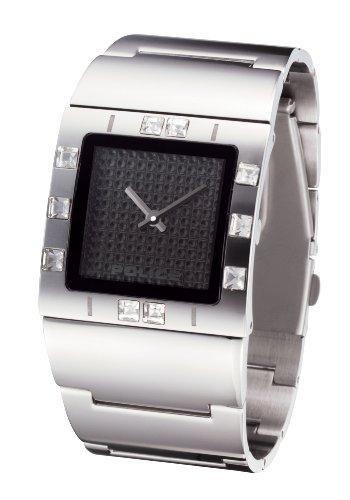 Police Women's PL-11749LS/02M Sheen Black Dial Watch