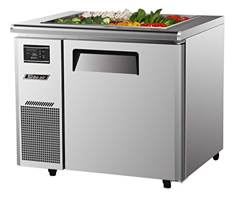 JBT36 7.5 cu. ft. J Series-Buffet Display Table with Side Mount Compressor Unit Efficient Refrigeration System Hot Gas Condensate System High Density PU Insulation and Adjustable Shelves: Stainless Steel