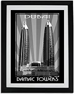 Photo of Damac Tower Black And White F06-M (A4)