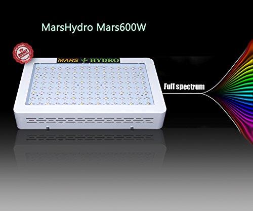 41ARnMGC3dL - MarsHydro Mars 600W Led Grow Light Full Spectrum ETL Certificate for Hydroponic Indoor Plants Growing