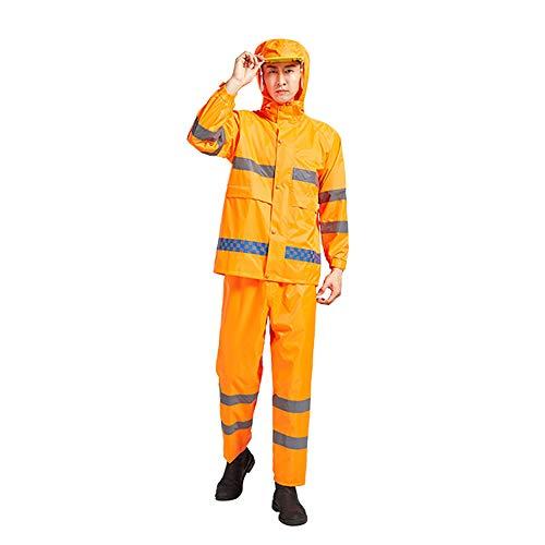 Casco El Sanitario Impermeable Al Adecuado Zddab Orange